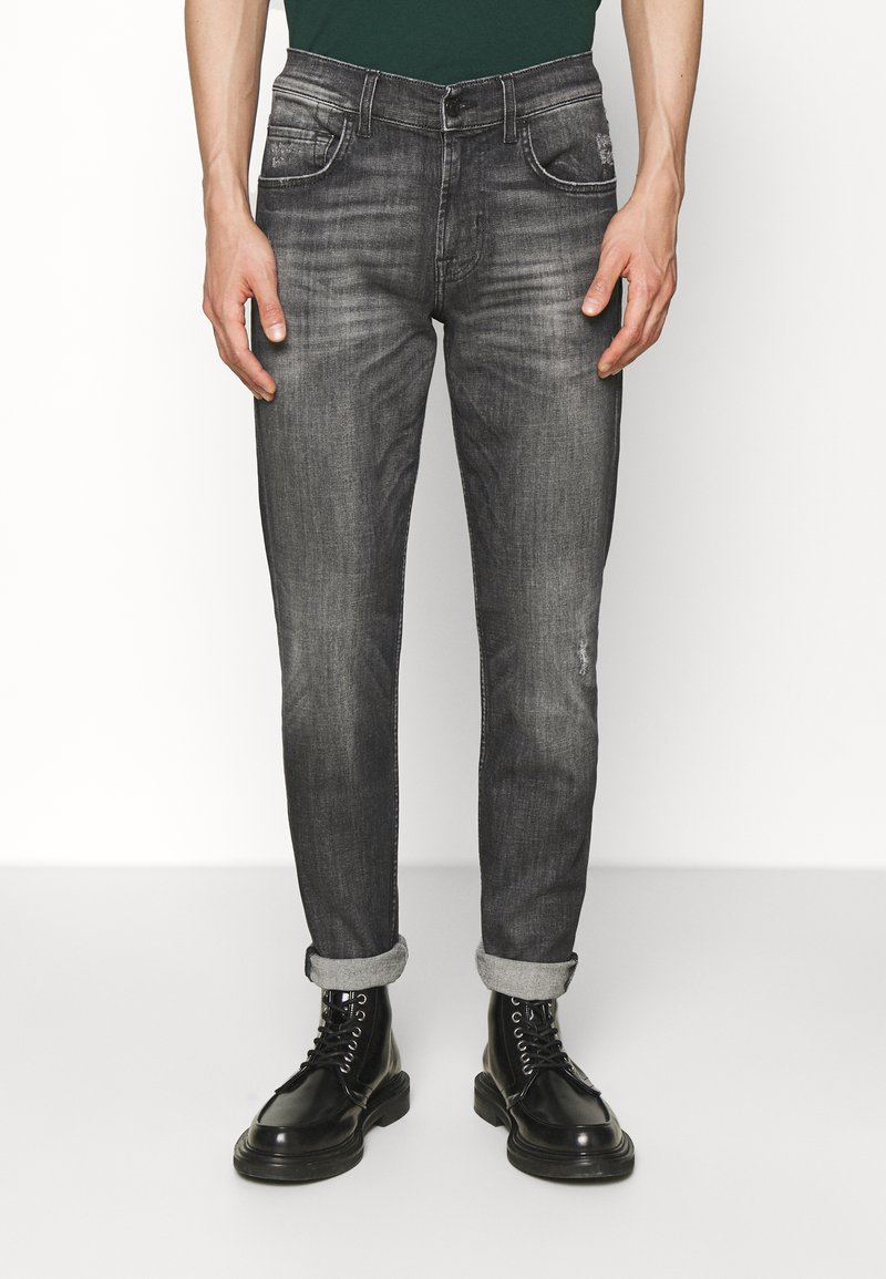 7 for all mankind - Slim fit jeans - must have black