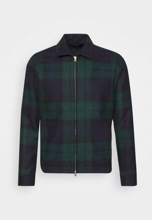 WATCH OVER - Summer jacket - navy/green