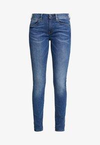 G-Star - 3301 MID SKINNY - Jeans Skinny Fit - sun faded blue - 4