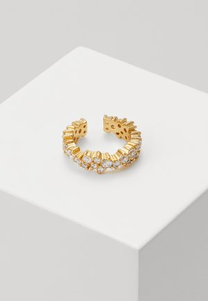 CLUSTER SINGLE EAR CUFF - Earrings - pale gold-coloured