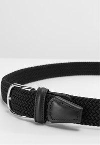 Anderson's - BELT UNISEX - Braided belt - black - 4