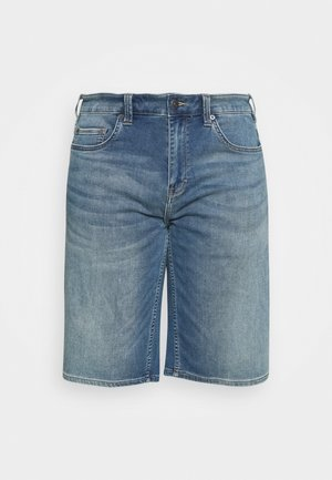 BERMUDA - Denim shorts - blue denim