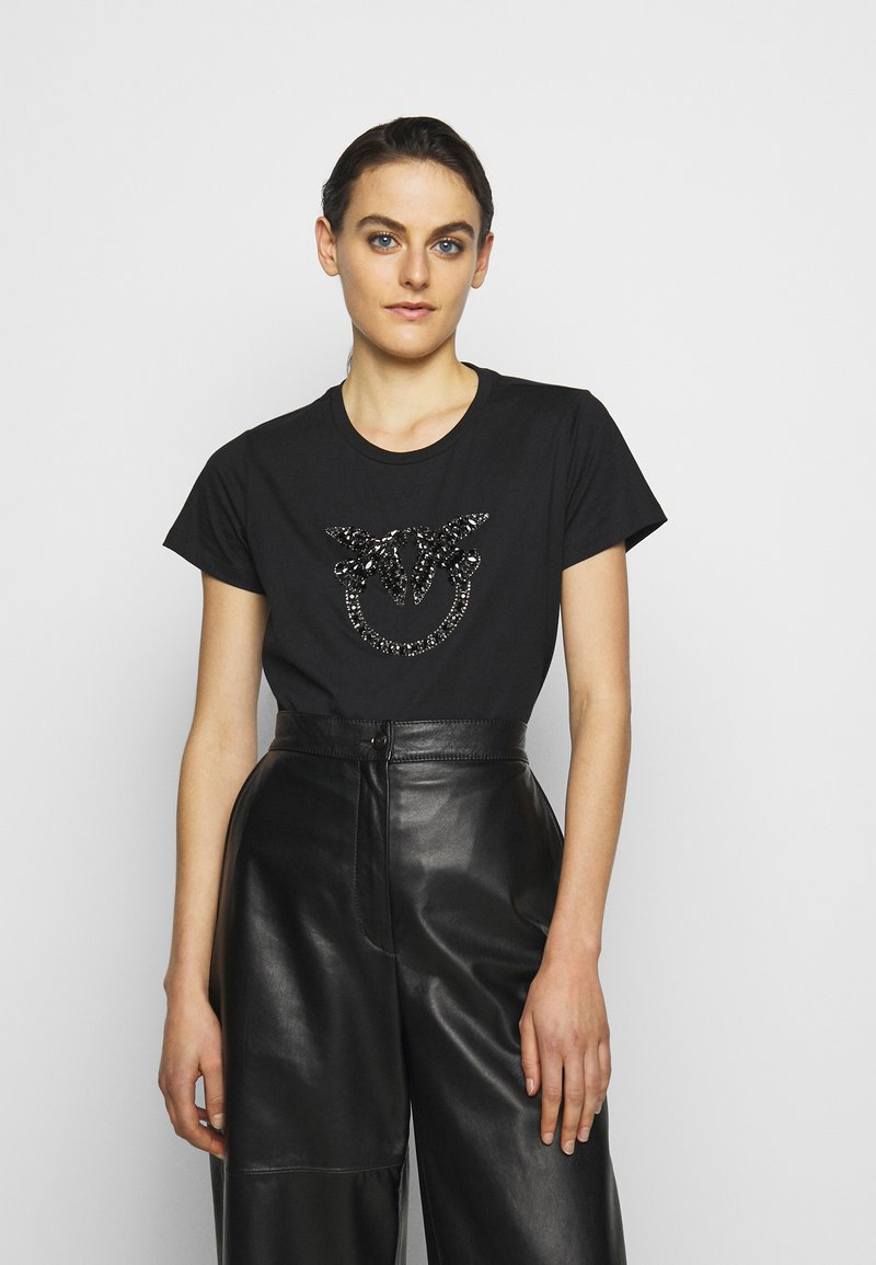 Pinko - QUENTIN - Print T-shirt - black