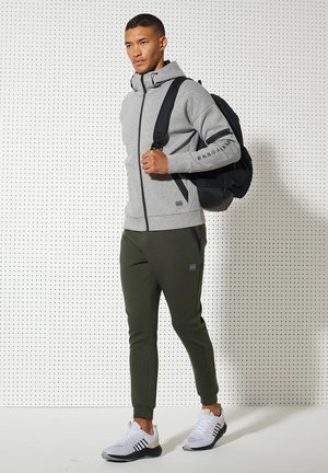 veste en sweat zippée - grey marl