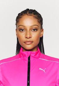 Puma - IGNITE WIND JACKET - Běžecká bunda - luminous pink - 3