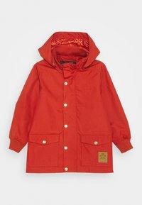Mini Rodini - PICO JACKET - Waterproof jacket - red - 0