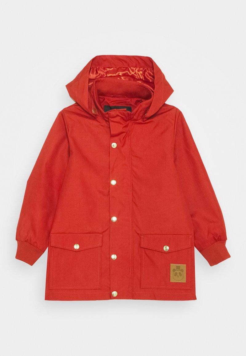 Mini Rodini - PICO JACKET - Waterproof jacket - red