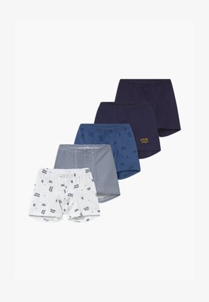 KIDS 5 PACK - Boxerky - dark blue/white