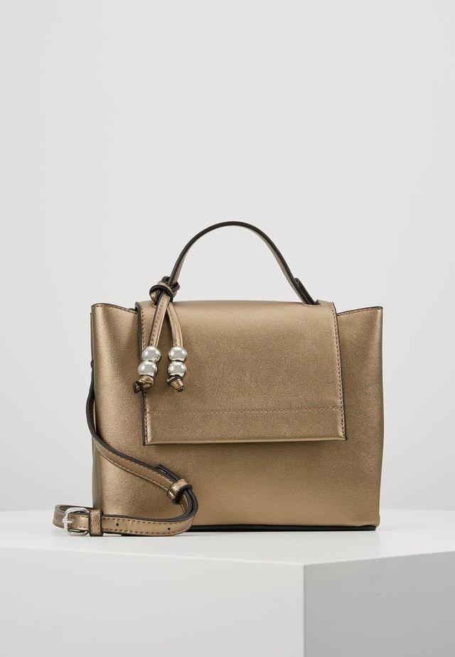 Handbag - gunmetal