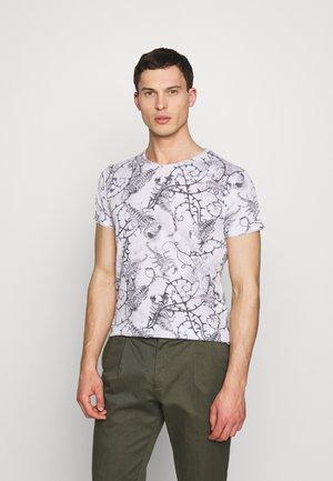 SCORPION ROUND - Print T-shirt - offwhite