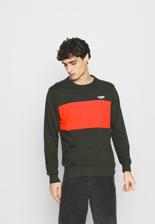 Sweater - signal orange
