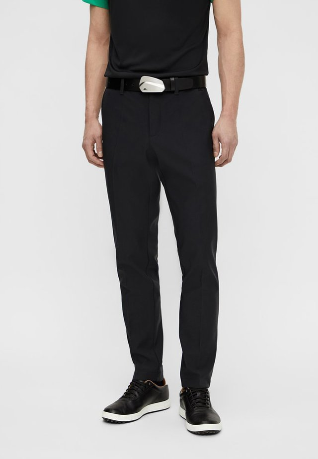 ELLOTT BONDED FLEECE - Pantalon classique - black