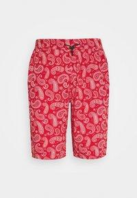 Night Addict - PAISLEY - Shorts - red - 3