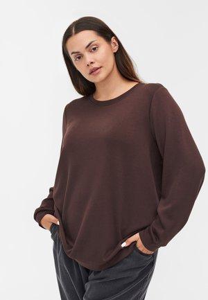 RUNDHALS  - Sweatshirt - molé