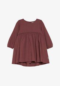Wheat - DRESS MAGDA BABY - Juhlamekko - dark rouge - 3