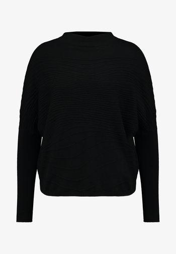 TENDAI - Strikkegenser - black