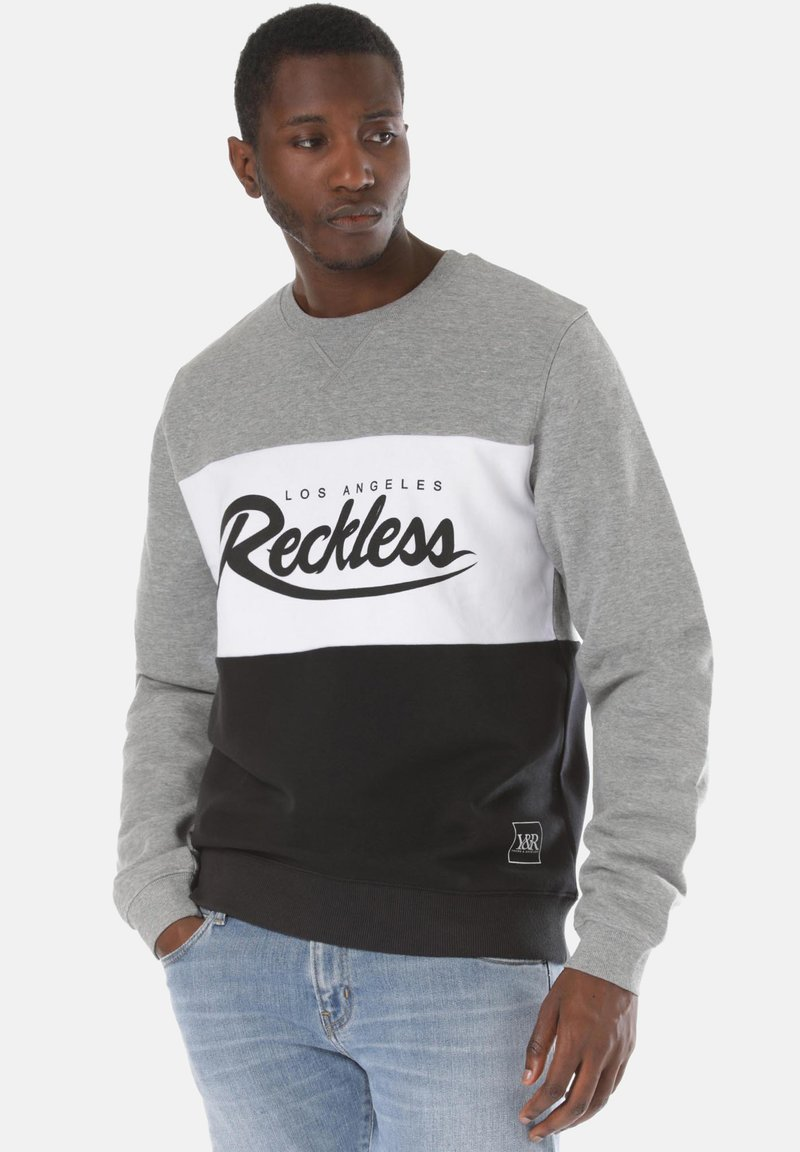 Young and Reckless - Sweater - black