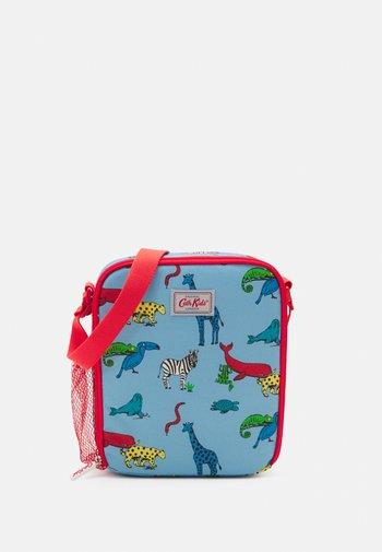 KIDS LUNCH BAG ANIMALS  UNISEX - Across body bag - blue grey