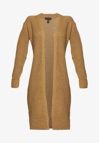 New Look - TURNBACK CUFF - Cardigan - camel - 3