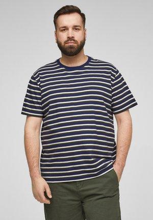 T-shirt print - blue stripes