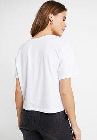 Even&Odd - 2 PACK - Basic T-shirt - white/black - 3