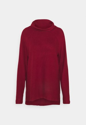 VMTAMMI HIGH NECK  - Jumper - cabernet