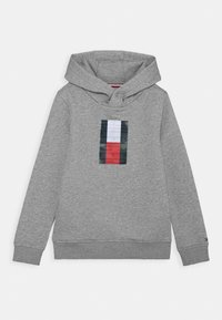 Tommy Hilfiger - FUN BADGE HOODIE - Hoodie - grey - 0