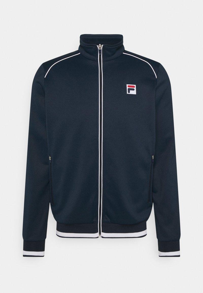 Fila - JACKET BEN - Sportovní bunda - peacoat blue