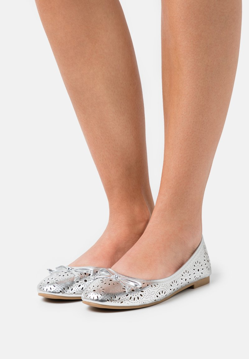 Anna Field - Ballet pumps - silver
