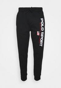 Polo Sport Ralph Lauren - PANT ATHLETIC - Verryttelyhousut - black/white - 0