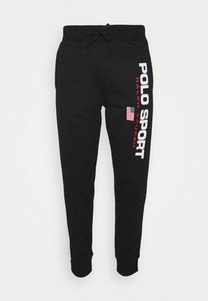 PANT ATHLETIC - Tracksuit bottoms - black/white