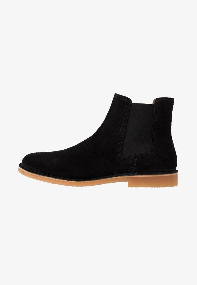 SLHROYCE CHELSEA BOOT - Korte laarzen - black
