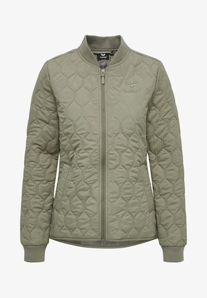 HMLSADIE - Training jacket - vetiver