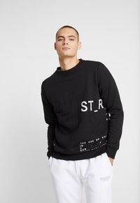 STEREOTYPE - INSTRUSTIONS CREW - Mikina - black - 0