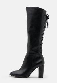 San Marina - EGO - Šněrovací vysoké boty - noir - 1