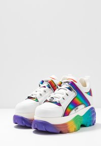 Buffalo London - Joggesko - white/rainbow - 4
