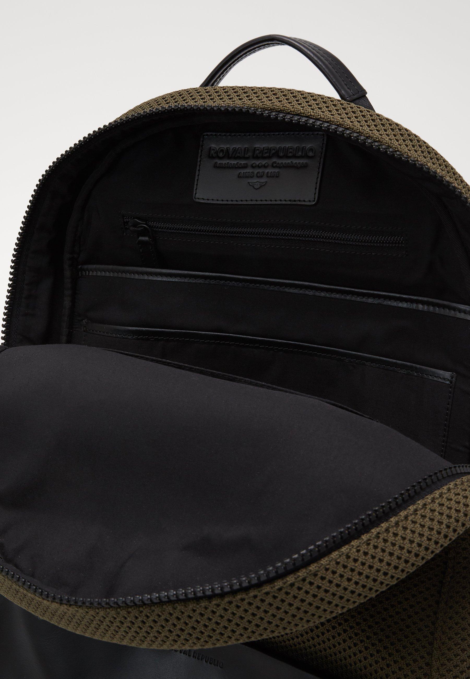 Royal RepubliQ SPRINT BACKPACK - Tagesrucksack - olive/khaki - Herrentaschen SuBLw