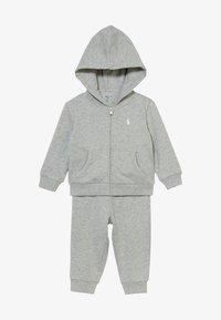 Polo Ralph Lauren - BOY SET - Survêtement - light grey heather - 4