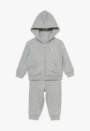 BOY SET - Trainingspak - light grey heather