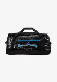 Patagonia - BLACK HOLE DUFFEL 55L UNISEX - Sports bag - black - 8