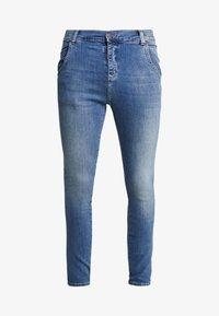 SIKSILK - Slim fit jeans - midstone blue - 3