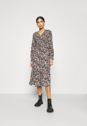 ONLJESS DRESS  - Freizeitkleid - black/multi-coloured