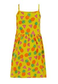 DeFacto - SUMMER - Jersey dress - yellow - 1