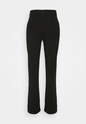 CAMEO TROUSERS - Tygbyxor - black