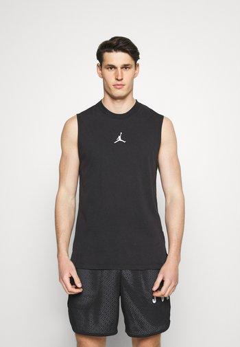 DRY AIR - Sports shirt - black/white