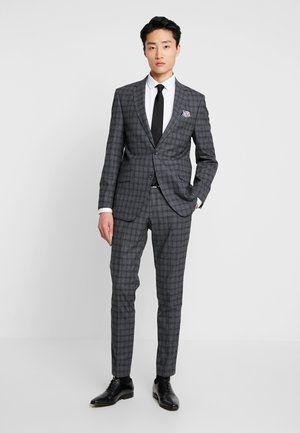 SUIT SLIM FIT - Suit - grey/check