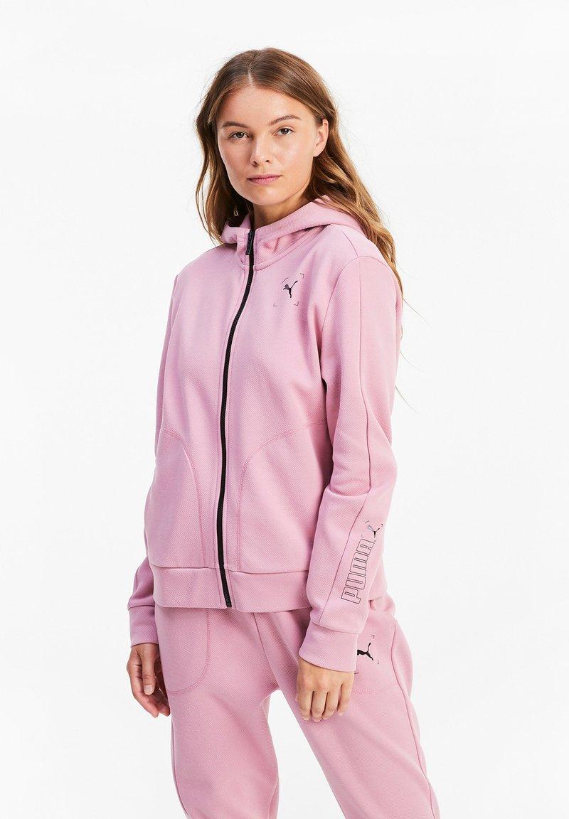 Puma - NU TILITY - Zip-up hoodie - foxglove