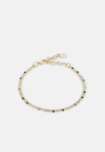 BLOSSOM BRACE DOUBLE MIX - Bracelet - gold-coloured