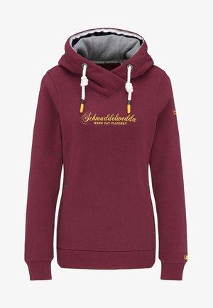 Hoodie - burgundy