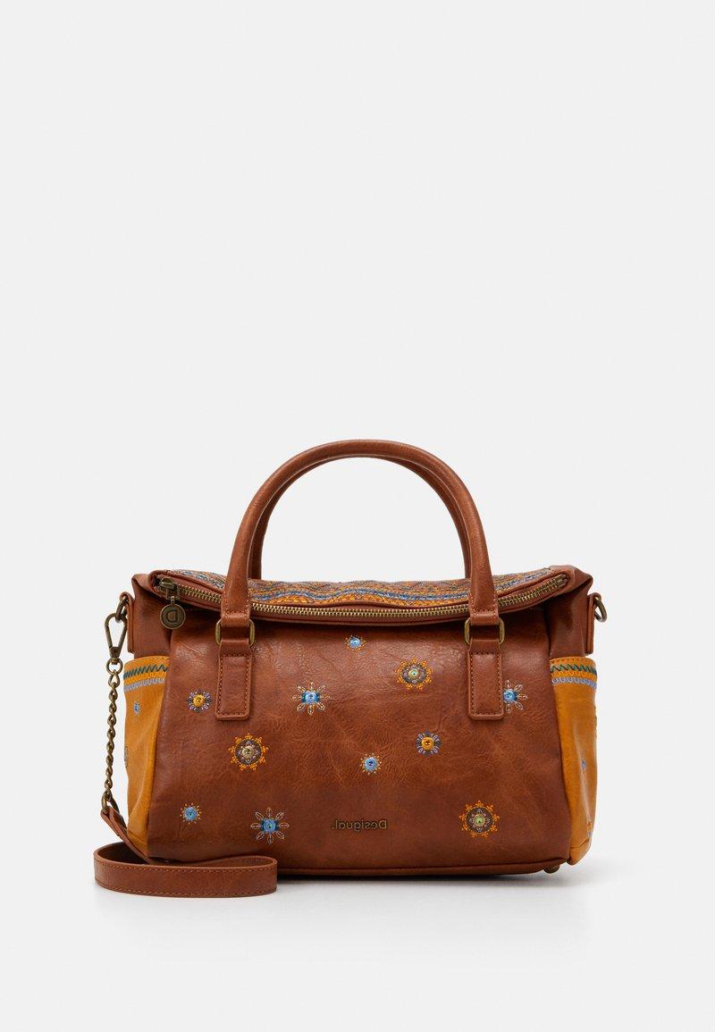 Desigual - BOLS LULULOVE LOVERTY - Handtasche - brown